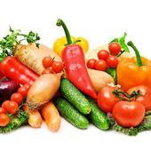 Set of fresh vegetables — Stock Photo