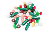Medicines and pills — Stock Photo