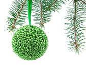Christmas toy isolated on white background — Stock Photo
