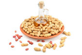 Peanuts and peanut butter — Stockfoto