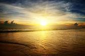 восход солнца над океаном — Стоковое фото
