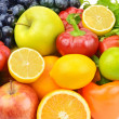 Set of fruits and vegetables — Foto de stock #39992057