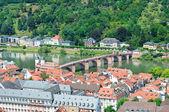 La ciudad de heidelberg. alemania — Foto de Stock