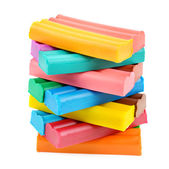 Set of colored plasticine  — Stock Photo