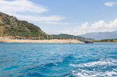 湾、地中海のヨットのための — ストック写真