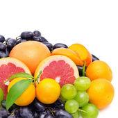 Ensemble de fruits et de baies — Photo