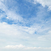 clouds against the blue sky — Stock Photo