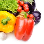 在白色背景上孤立的蔬菜 — 图库照片