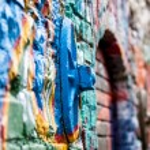 Graffiti detail — Stock Photo