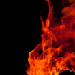 Flickering Flames — Stock Photo #11902681