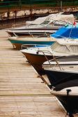 Docked Boats — Stock Photo