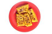 Tarçınlı üzümlü kabak haşlanmış — Stok fotoğraf