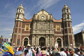 Old basilica of Our Lady of Guadalupe — Stock Photo