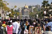 Pilgrimage to the basilica — Stock Photo