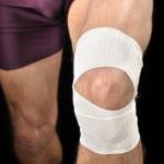 Knee wrap — Stock Photo