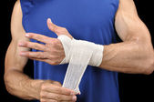Wrist wrap — Stock Photo