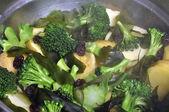 Warzywa na parze — Zdjęcie stockowe