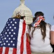 Stock Photo: Washington D.C. - April 10, 2013: Demonstrators show t