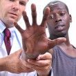 Stock Photo: Musculoskeletal medical examination of hand
