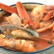 Seafood bowl — Stock Photo