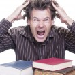 Stock Photo: Academic stress