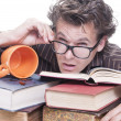 Studying for exams — Stock Photo