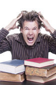 Academic stress — Stock Photo