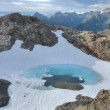 Stock Photo: Glacial pool