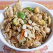 Almond chicken — Stock Photo