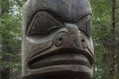 Tlingit totem pole — Stock Photo