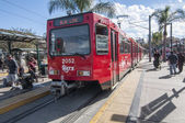 San Diego trolley — Stock Photo