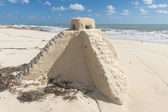 Mayská pyramida — Stock fotografie