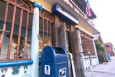 Rustic post office — Stock Photo