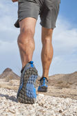 Rugged cross country runner — Stock Photo