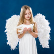 Angel with dove — Stock Photo #10713198