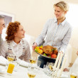 Holiday dinner — Stock Photo #11336408