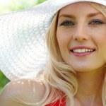 Fashionable blonde — Stock Photo #11627143