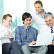 Discussing plan — Stock Photo #11631775