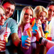 Friends in the bar — Stock Photo #11666193