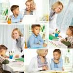 Home education — Stock Photo #12225258