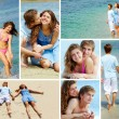 Dates on vacation — Stock Photo