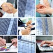 Businesspeople hands — Foto de Stock