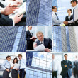 Different businesspeople and situations — Stock Photo
