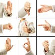 Language of gestures — Stock Photo #12225151