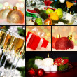 Christmas objects — Stock Photo