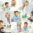 Home education - Foto Stock