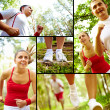 Stock Photo: Outdoor training