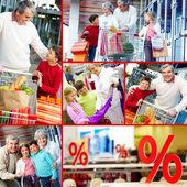 Consumers — Stock Photo