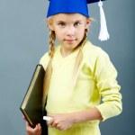 Clever schoolchild — Stock Photo #12499047