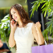 Phoning from mall — Stock Photo #12516772